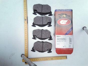 Pastiglie freno anteriore Asimmetriche AP 05P271