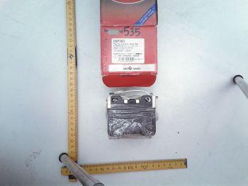 Brake pads AP 05P283 CITROEN AX, PEUGEOT 105