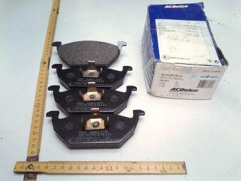 Brake pads Front ACDelco AC638181D WVA21974 VW Audi Seat Skoda