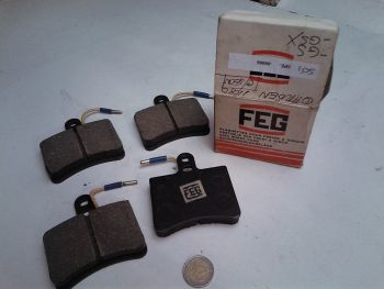 EGF Brake pads 11080 Citroen GS GSX