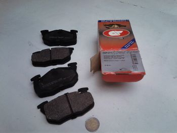 Asymmetric Brake pads Front...
