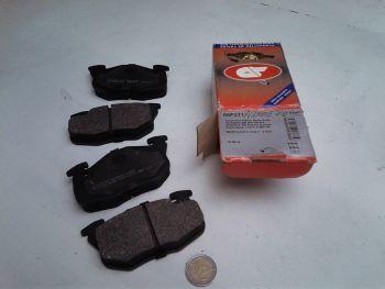 Asymmetric Brake pads Front...