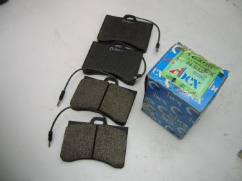 Brake pads Front ABEX T6408...