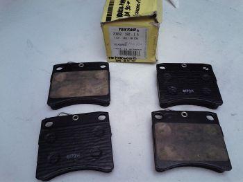 Brake pads Texstar 20652 182 1 5 T437 (40L) AA 034