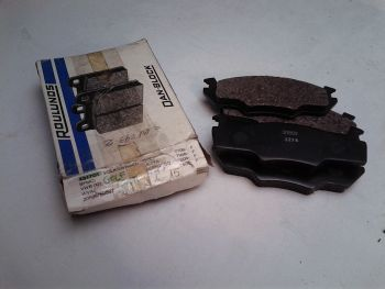Brake pads front Roulunds...
