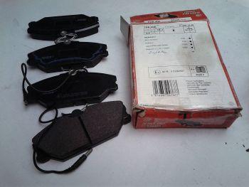 Brake pads FERODO FDB406 +...