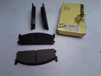 Pasatiglie front brake TEXTAR 21115 155 000 04 (820)