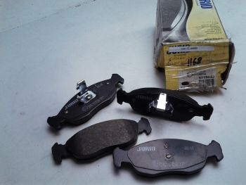 Brake pads Front JURID 571902j