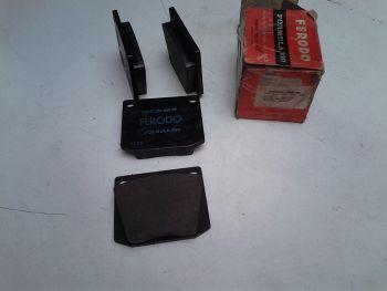 FERODO brake pads FDB 525 Ford Capri, MG C