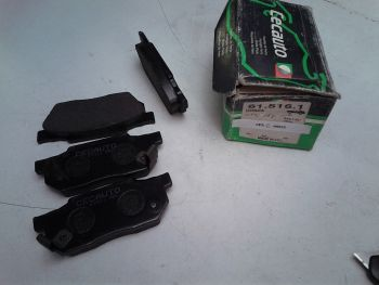 Brake pads front CecAuto...