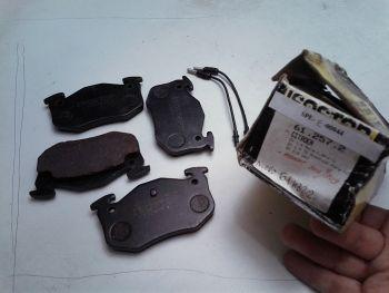 Brake pads ISOSTOP 61.257.2 Peugeot Citroen ZX 305.309