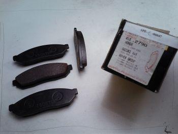 Brake pads ISOSTOP 61.2790 Honda Civic, Suzuki Act