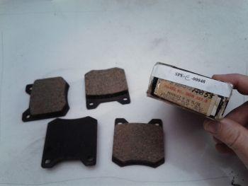 Brake pads Don DON U1-553 03 227 S (Adapt. Ferodo FDB53) Renault 16, Peugeot 204, 304