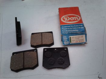 Brake pads DON don 590 03 227 Ford Taunus, grenade