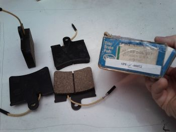 Brake pads front DON DON 330 03 227 Citroen GS