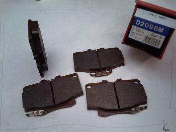 Front brake pads NIPPARTS...