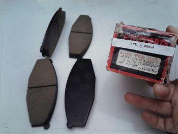 Brake pads Front NIPPARTS...