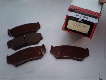 Brake pads front DURON 1035 FORD CAPRI, Vauxhall Ventora