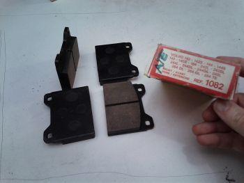 Brake pads front DURON 1082 Volvo 142,144,145,244,264