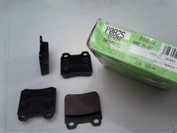 Rear brake pads Valeo P082S...