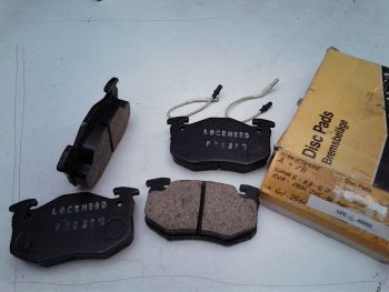 Brake pads APLockHeed P25276 (Adatt.61.2561) Renault R5 R9 R11 Peugeot 205 305