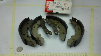 Rear brake shoes C.B.S. SF...