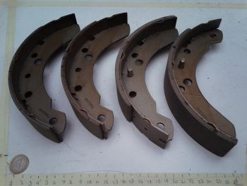 Rear brake shoes Abex H1350...