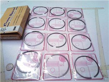 Fasce elastiche SIM per Fiat 124 diam 73mm Crome spiral Motori Nuovi/seminuovi
