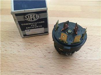 1x SIPEA 0441 12v OM Rele' Teleruttore Microteleruttore 4 terminali
