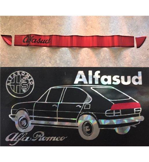 Fascia Adesiva Rossa Rifrangente Posteriore Alfa Romeo Alfasud