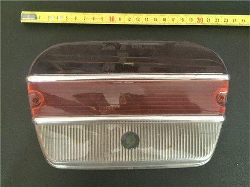 FIAT 1500C - PLASTICA FANALINO POSTERIORE DESTRO O SINISTRO
