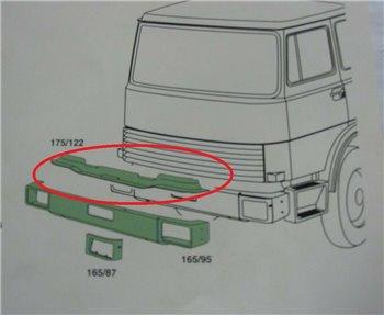 OM - girder FRONT BUMPER