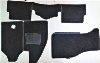Serie Tappeti Moquette Personalizzati Grigio nero Renault 5 TS