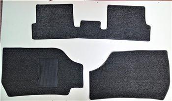 Serie Tappeti Moquette Personalizzati Neri VW Polo 89