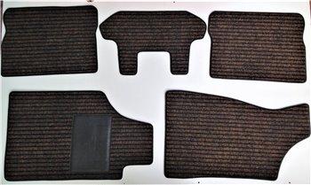 Serie Tappeti Moquette Personalizzati Marroni Audi 80 ultimo tipo