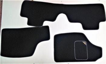 Serie Tappeti Moquette Personalizzati Neri Fiat Punto 188 2a serie