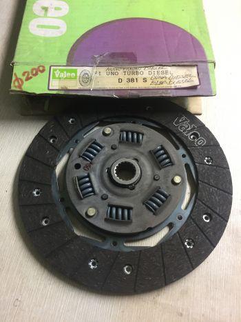 Disco Frizione Fiat Uno Fiorino Duna Elba Diesel 200 mm Valeo D381S 079834