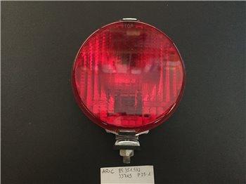 Fanale Retronebbia Rotondo  Rosso Metallo 130 mm - 33765  ARIC 85.351.532