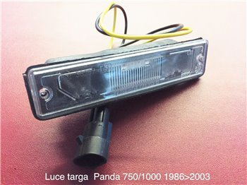 Fanale Fanalino Luce Targa Fiat Panda 750 1.0 '86-2003 - art. 04.011.02.0