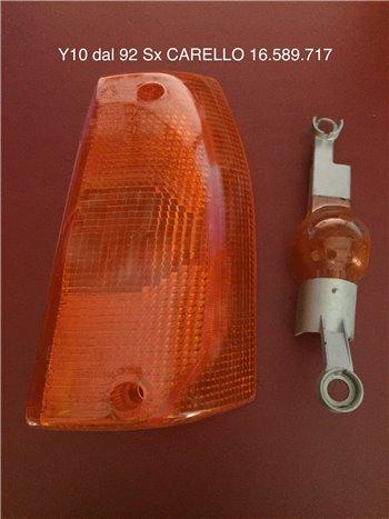 Plastica Fanale Fanalino Anteriore Sinistro Arancio Autobianchi Y10 '92 - - Carello 16.589.717
