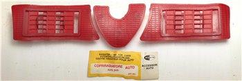 Copriradiatore Gomma Rosso Alfa Romeo Sud - art. 481