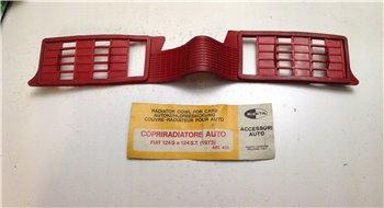 Copriradiatore Gomma Rossa Fiat 124 Special 124 ST '73 - 431