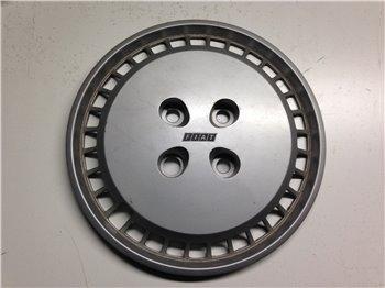 1x Borchia Copricerchio Ruota Fiat Panda 1a serie - logo nero