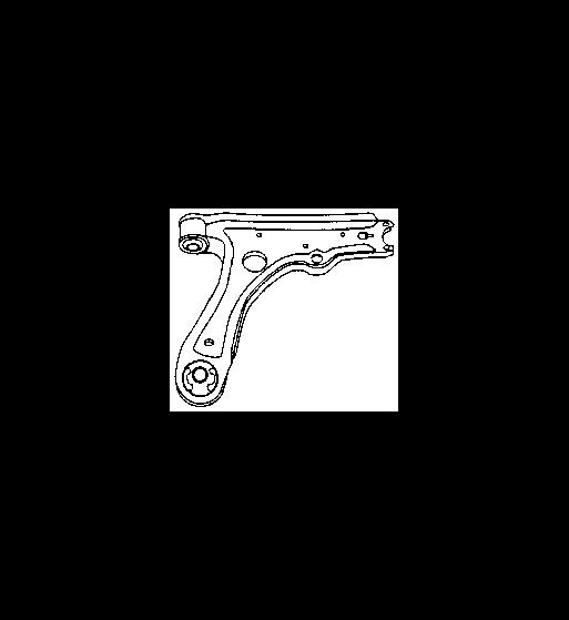 Braccio Oscillante Sospensione DX/SX Volkswagen VW - 1H0407151