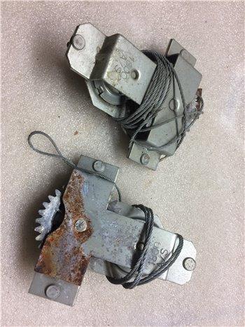 Meccanismo Alzacristallo Alzavetro Posteriore Destro Fiat 1800 2100