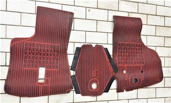 Tappeti in gomma FIAT 600 T 850 T 900 T Rossi - SuperAuto