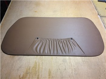 Pannello Interno Porta Anteriore Sinistro FIAT 126 originale Secrian - nero