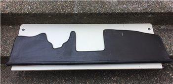 Pianale Plancia Mensola Sottocruscotto FIAT 124 - Nera