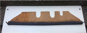 Pianale Plancia Mensola Sottocruscotto FIAT 600 - Nera