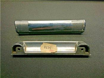 Fiat 127 Special 3P Maniglia Cofano Baule Posteriore Plastica Cromata Argento
